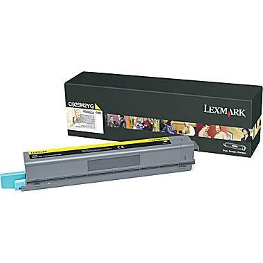 C925de High Yield Yellow Toner Cartridge (7,500 pages*)