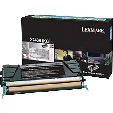 X748 High Yield Black Return Program Toner Cartridge (12,000 pages*)