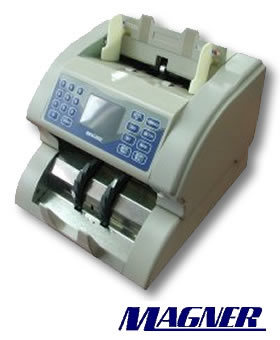 Magner Model 100 Series Desktop Currency Counter.