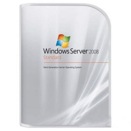 Microsoft Windows Server 2008 R2 Standard - 10 Users