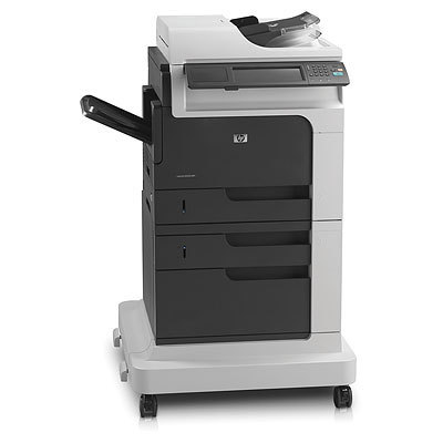 HP LaserJet Enterprise M4555f Monochrome Multi Function Printer with fax