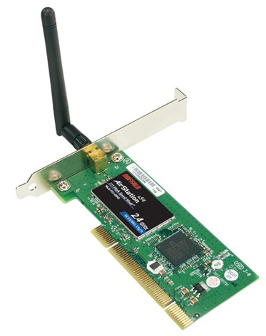 Buffalo Wireless-G 125* High-Speed PCI Adapter