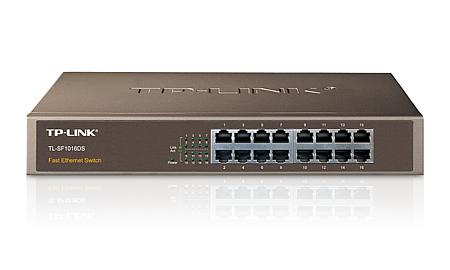 TP-LINK 16-Port 10/100Mbps Switch