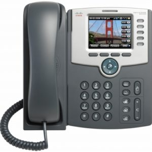Cisco 5-Line IP Phone with Color Display, PoE, 802.11g,Bluetooth
