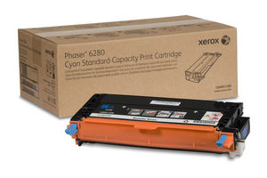 106R01388 Cyan Standard Capacity Print Cartridge, Phaser 6280