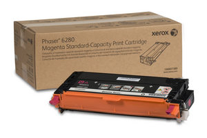 106R01389 Magenta Standard Capacity Print Cartridge, Phaser 6280