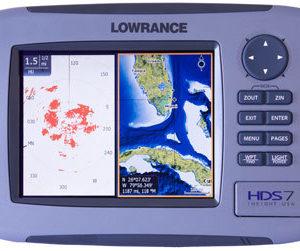 Lowrance HDS-7 Gen2 FISHFINDER / CHARTPLOTTER