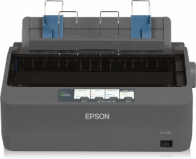 Epson LX-350 9 Pin Monochrome Dot Matrix Impact Printer