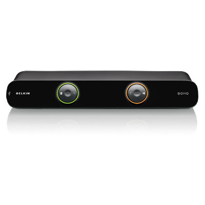 BELKIN DVI 2 PORT SOHO USB KVM SWITCH F1DD102Lea