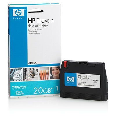 HP Travan 20 GB Data Cartridge
