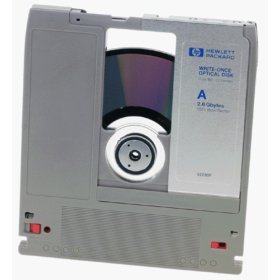 HP 2.6GB write-once optical disk,1024bps Formatted