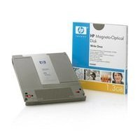 HP 1.3GB write once optical disk,1024bps Formatted