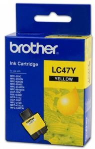 Brother LC-47 Ink Cartridge (Yellow)