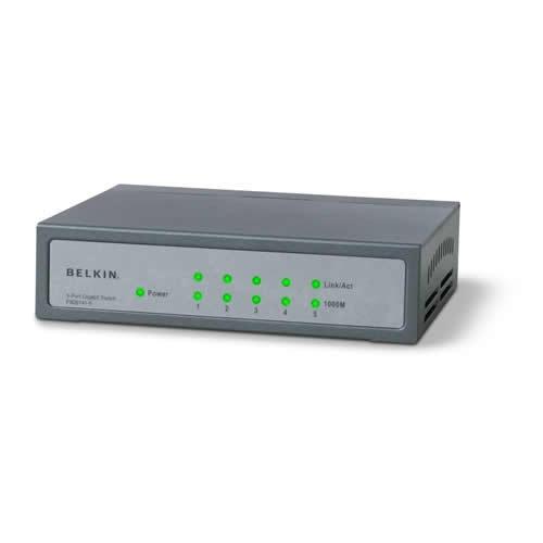 Belkin 8 Port 10/100 base-t Switch