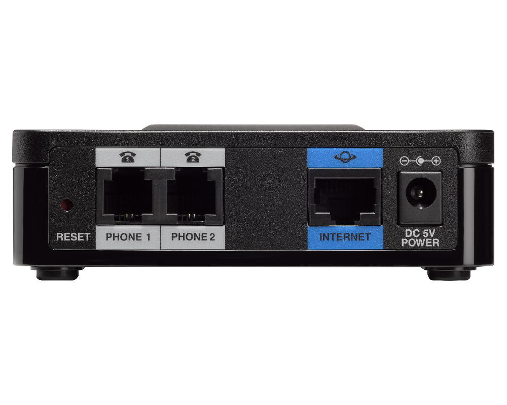Cisco SPA112 2-Port Phone Adapter with 2 VOIP Ports
