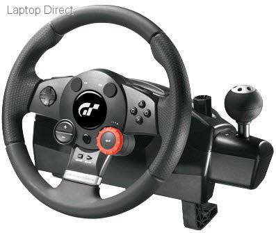 LOGITECH GAMING WHEEL DRIVING FORCE GT-NEW
