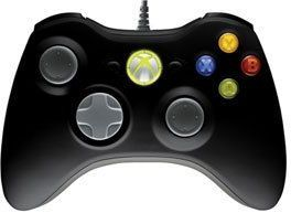 MICROSOFT GAMEPAD WIRED X-BOX 360-PC