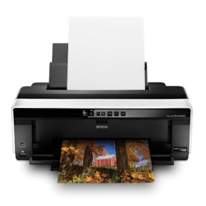 Epson Stylus Photo R2000 Wireless A3 Wide-Format Color Inkjet Printer (C11CB35201)