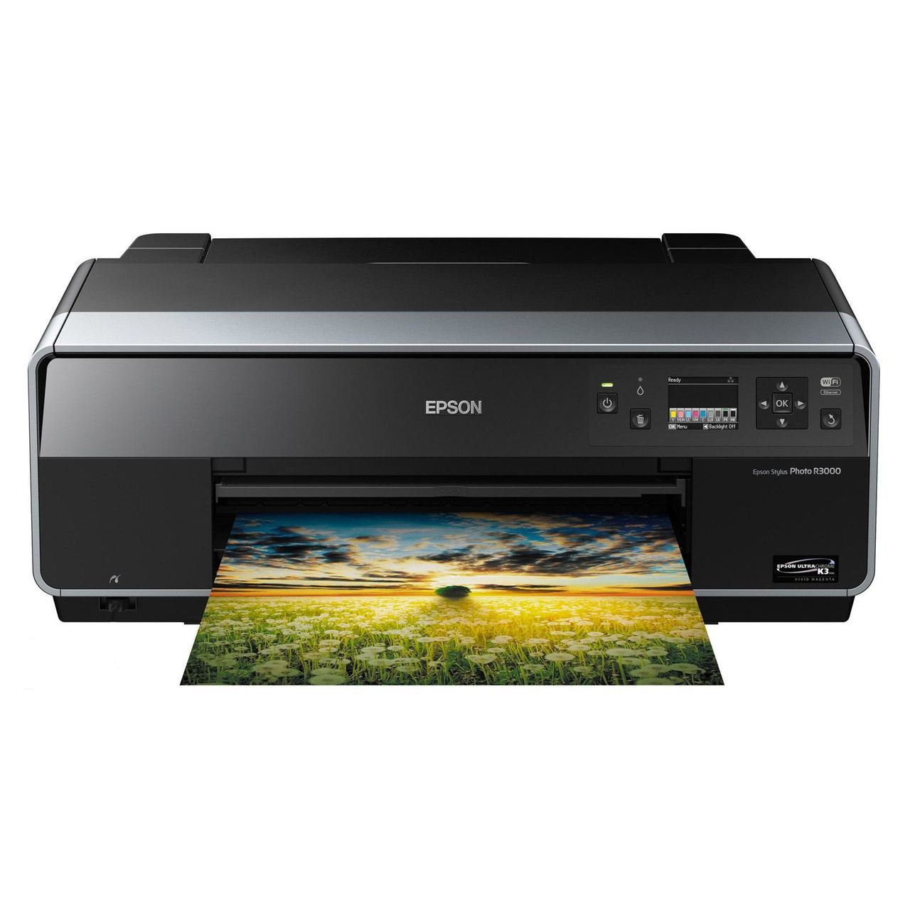 Epson Stylus Photo R3000 Wireless A3 Wide-Format Color Inkjet Printer (C11CA86201)