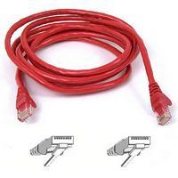 Belkin FastCat 5e Snagless Patchcable RJ45M-RJ45M 2M (Red)