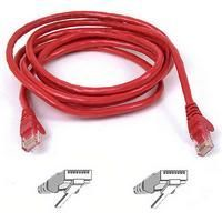 Belkin FastCat 5e Snagless Patchcable RJ45M-RJ45M 5M (Red)
