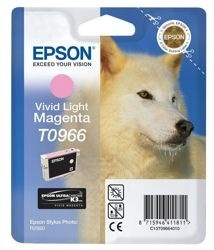 Stylus Photo R2880 T0966 Vivid Light Magenta Ink Cartridge (11.4ml)