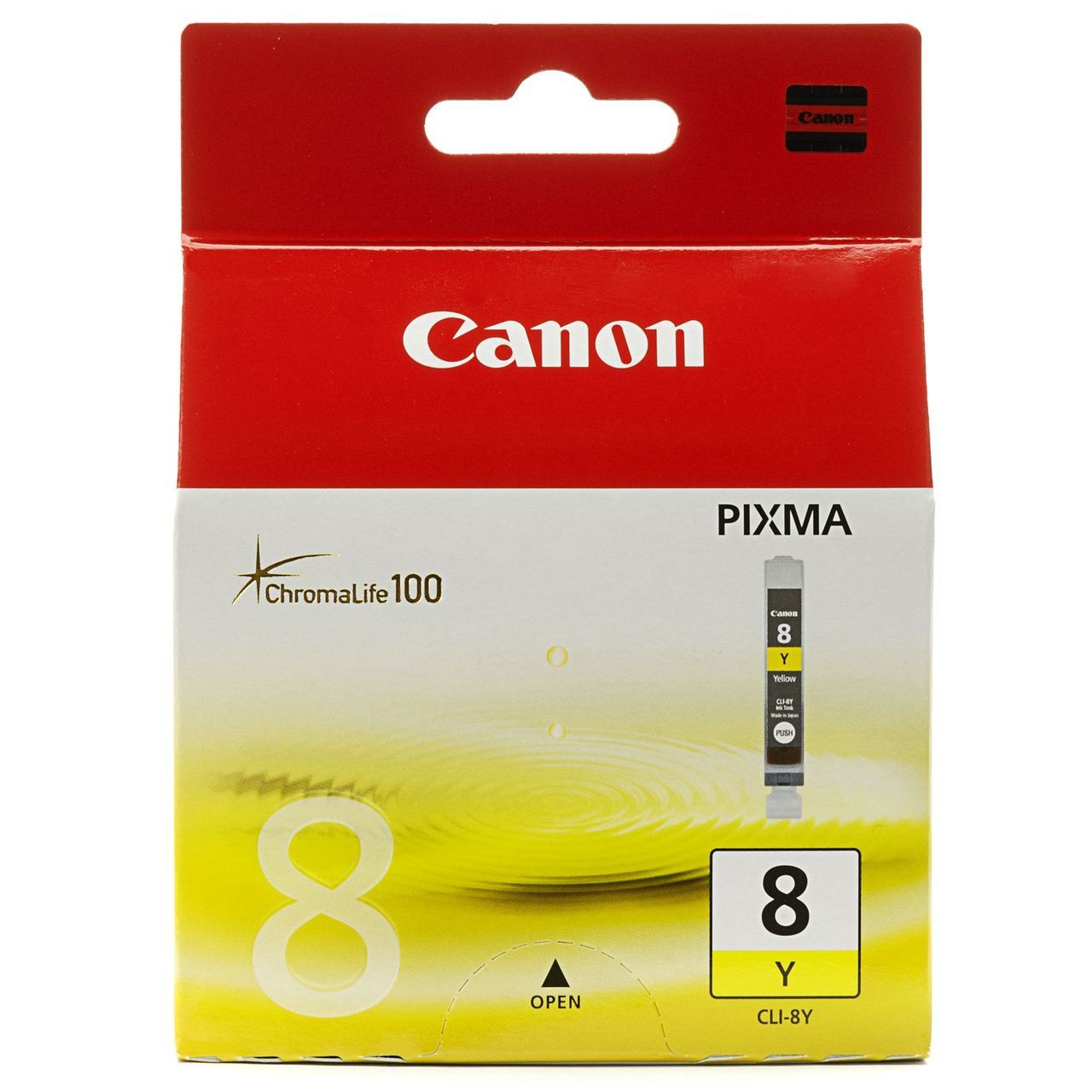 PIXMA iP4500 CLI-8Y Yellow Ink Cartridge (13ml - 300 pages*)