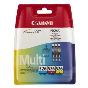 PIXMA iP4950 CLI-526 CMY Combo Pack