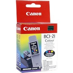 BJC-2000 BJC-4000 BCI-21C Tri-Colour Ink Cartridge