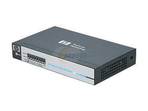 HEWLETT-PACKARD 1410-8G SWITCH -8 Ports - 8 x RJ-45 - 10/100/1000Base-T / J9559A