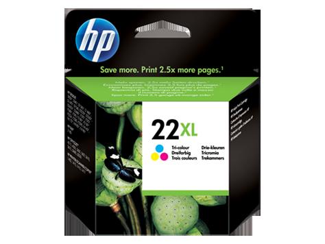 DeskJet D1560 No.22XL Colour Ink Cartridge (415 pages*)