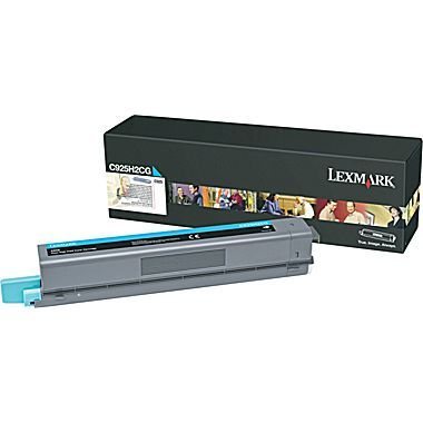 C925de High Yield Cyan Toner Cartridge (7,500 pages*)