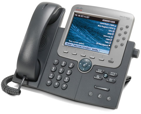 Cisco 7975G VoIP Unified IP Phone