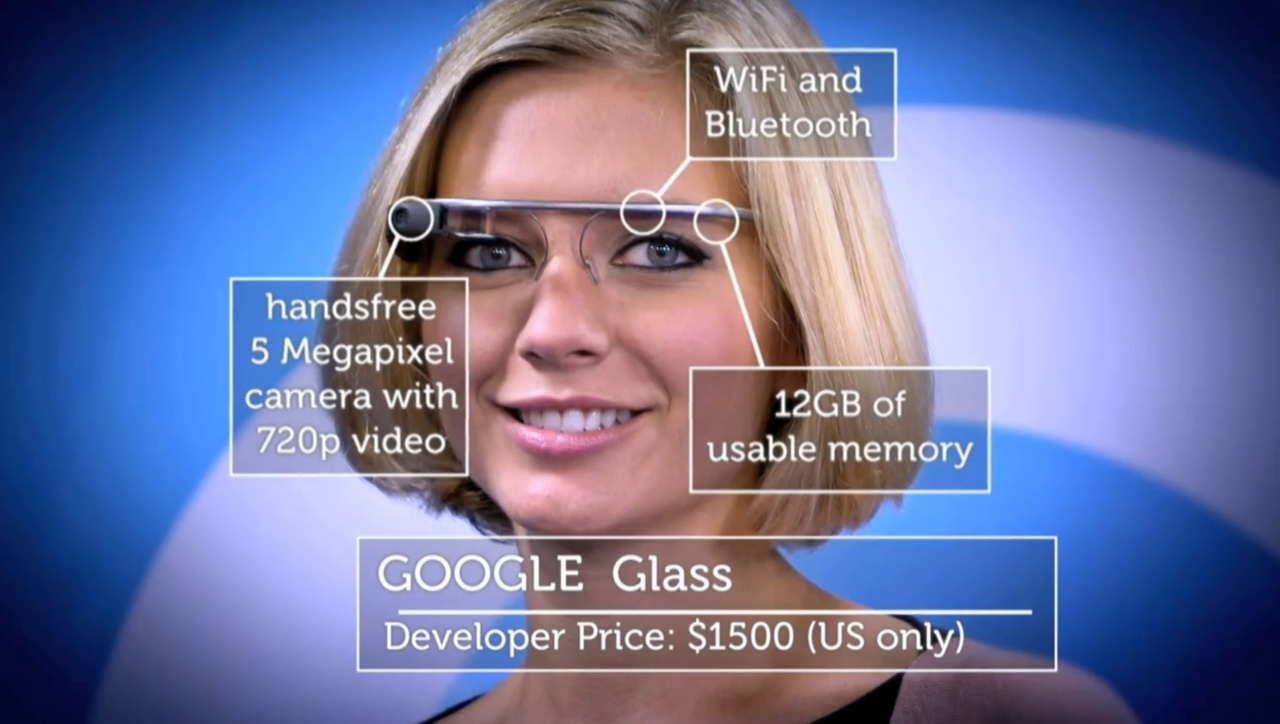 Google Glass Explorer Edition V2 Charcoal IOS Android V2.0 Black Glasses