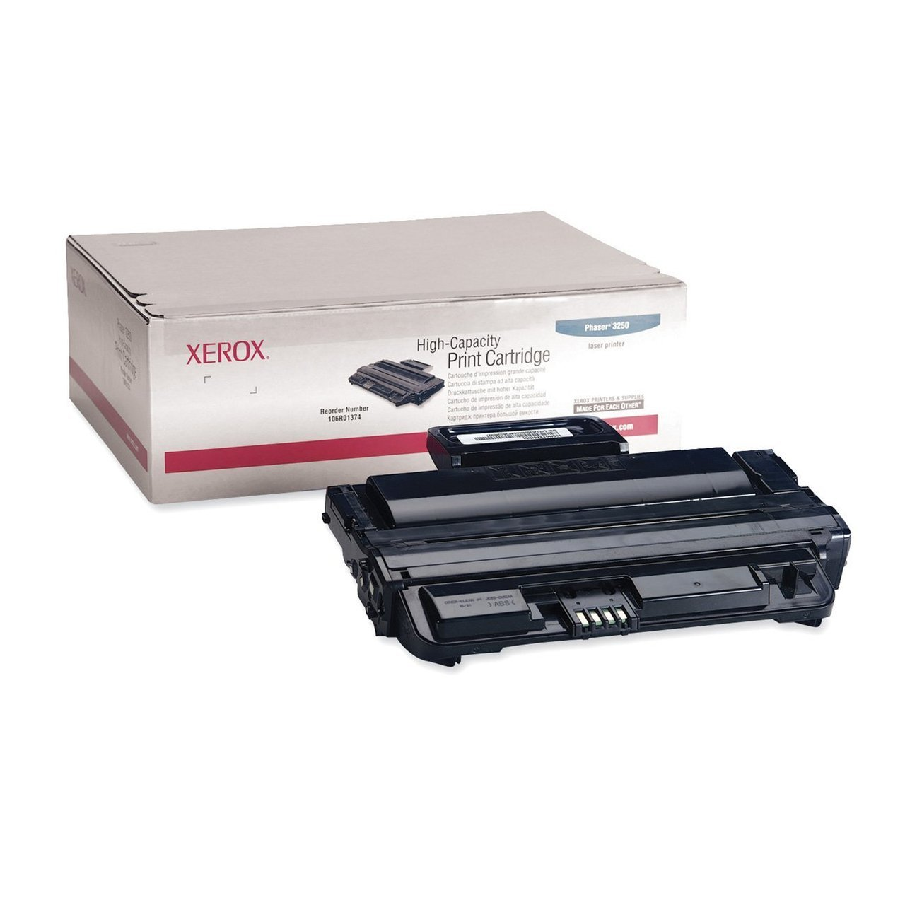 Xerox® 106R01374 High-Capacity Black Toner Cartridge