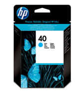 HP 40 Inkjet Print Cartridges C51640ME