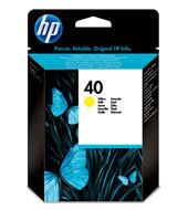 HP 40 Inkjet Print Cartridges C51640YE