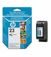 HP 23 Tri-colour Inkjet Print Cartridges C1823GE