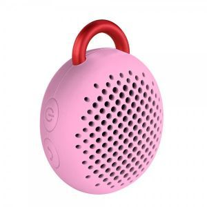 Divoom Bluetune Bean Portable Speakers (Pink)