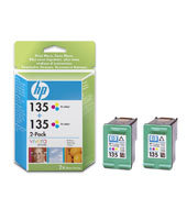 HP 135 Tri-colour Inkjet Print Cartridges Multipack CB332HE