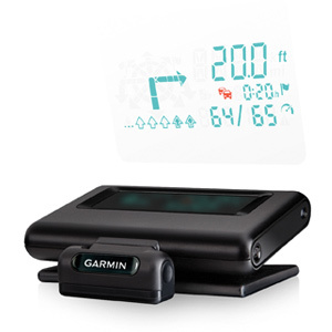 Garmin Head-Up Plus Display Navigation System Automotive Mountable GPS