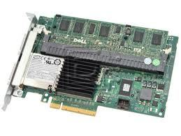 Dell PERC 6e 6/E Dual Channel SAS / Serial Attached SCSI RAID Controller, BBU, 256MB Cache PCI Express