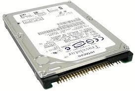 "Hitachi Travelstar 7K100 0A25023 / HTS721080G9AT00 80GB 7.2K 2.5"" IDE ATA/100 Hard Drive"