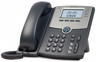 Cisco SPA504G 4Line IP Phone with 2Port Switch PoE & LCD Display
