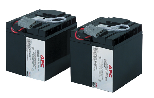 APC RBC11 Replacement Battery cartridge (Pack of 2 Batteries) #11