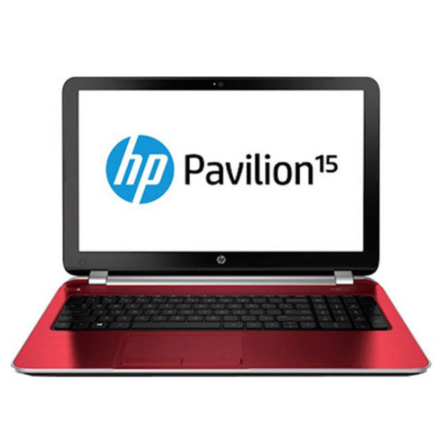 "HP Pavilion 15-D048SE Laptop (i5, 4GB, 500GB, 15.6"", 1GB GFX, Win8) Red 15 Inch"
