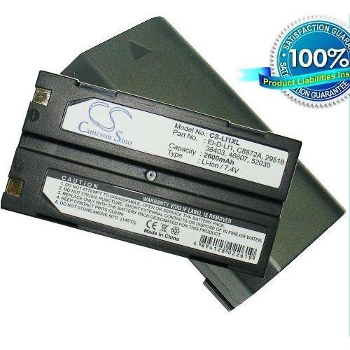 C&S 2600mAh Extended Battery MOLI MCR-1821J/1-H, MCR1821J/1-H