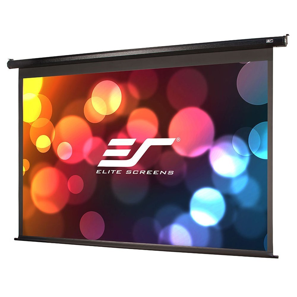 Elite Screens Spectrum Series, Electric Drop Down Projection Screen, 150-inch Diagonal 16:9, Model: Electric150H