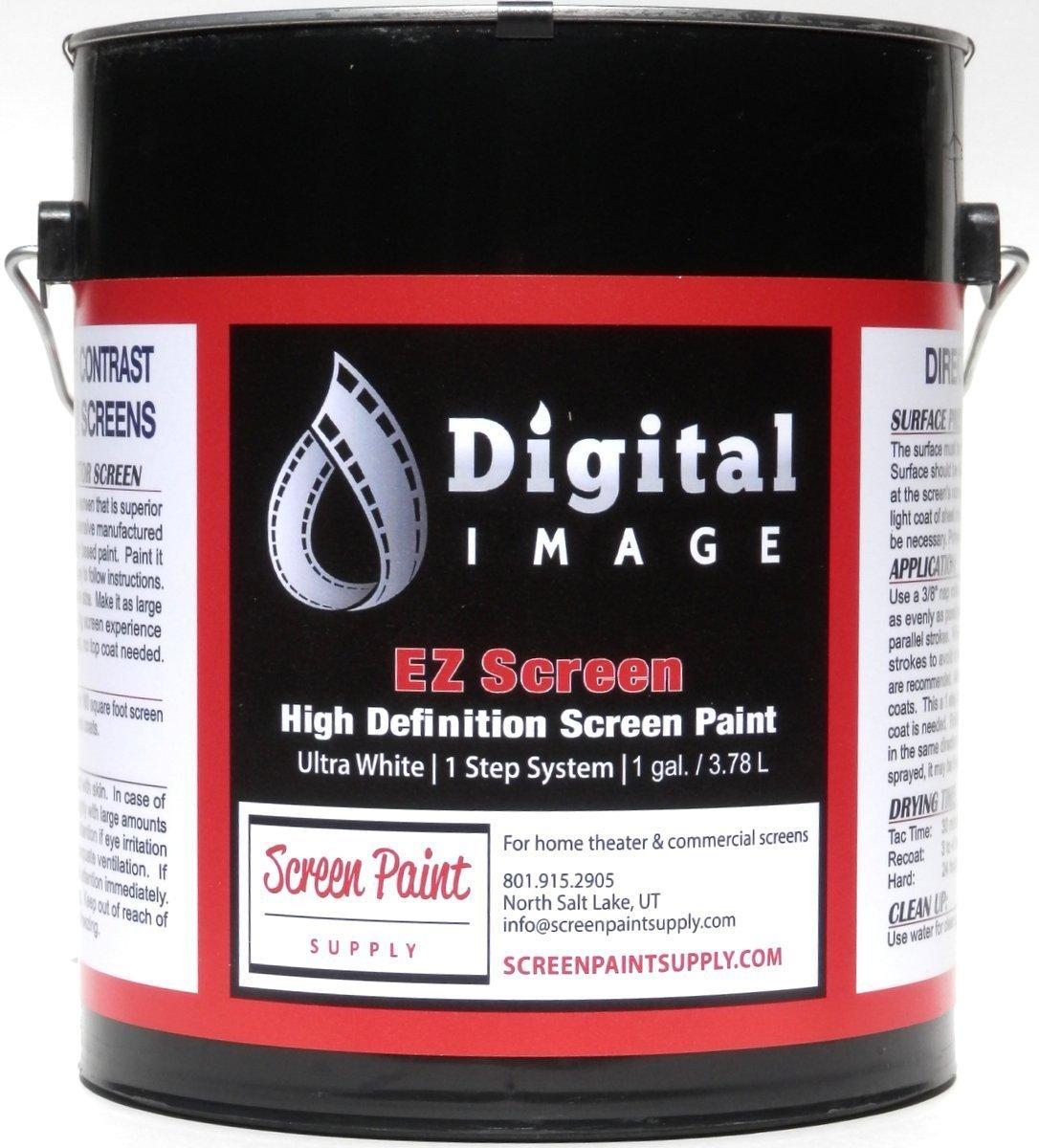 Projector Screen Paint - High Definition - EZ Screen White - Gallon
