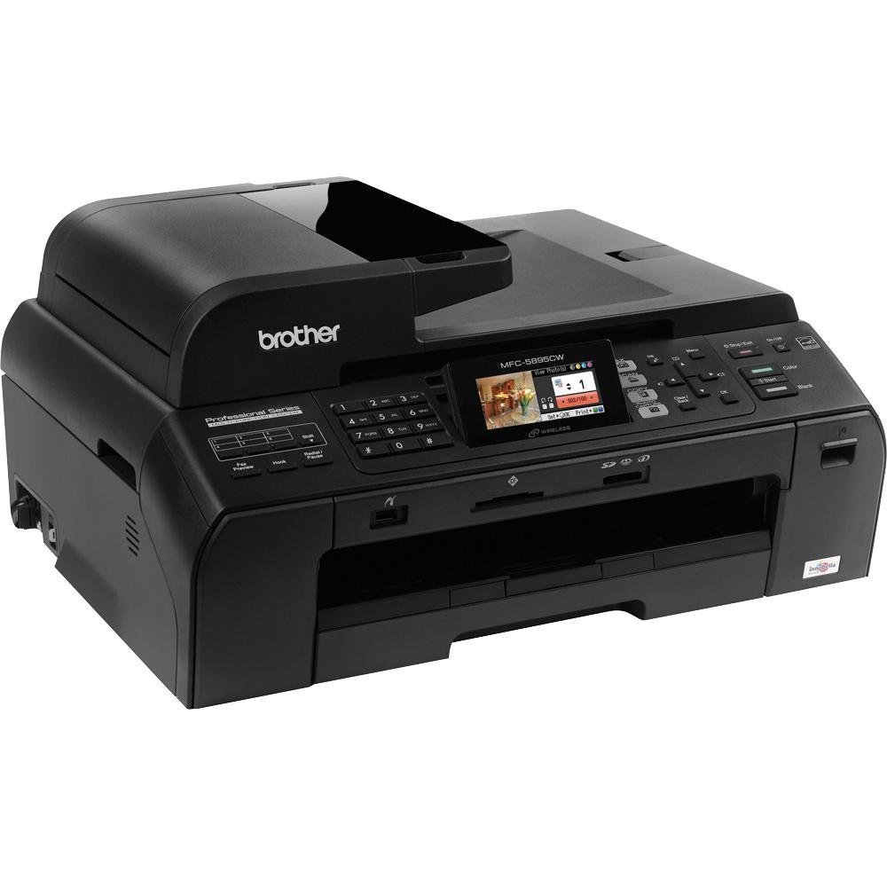 Brother MFC5895CW Wireless Color Photo Printer with Scanner, Copier and Fax